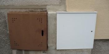 skříňka na plynomer