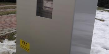plynová skříňka
