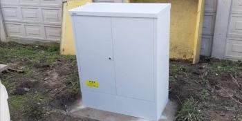 skříňka na plynoměr